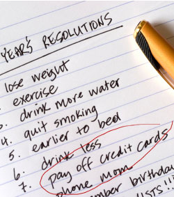 Beer Belly Resolutions